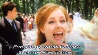 """That's how you know"" song & scene from Disney's 'Enchanted' film - CAPTIONED"