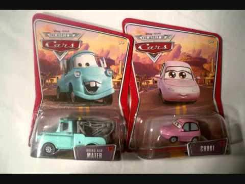 SET OF 234 - DISNEY PIXAR CARS COLLECTION