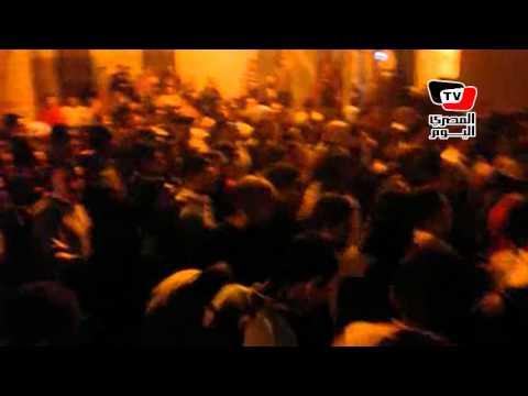 جنازة أحد ضحايا حادث نادي ضباط شرطة العريش