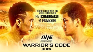 [Full Event] ONE Championship: WARRIOR'S CODE