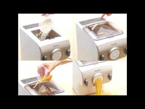 Philips PastaMaker -  Maquina para hacer pasta y fideos - HR2355