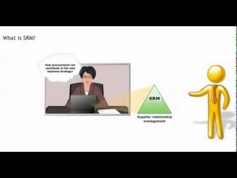 SRM definition - Procurement training - Purchasing skills - YouTube