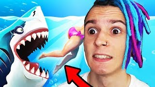ОЧЕНЬ ГОЛОДНАЯ АКУЛА !! (HUNGRY SHARK EVOLUTION)