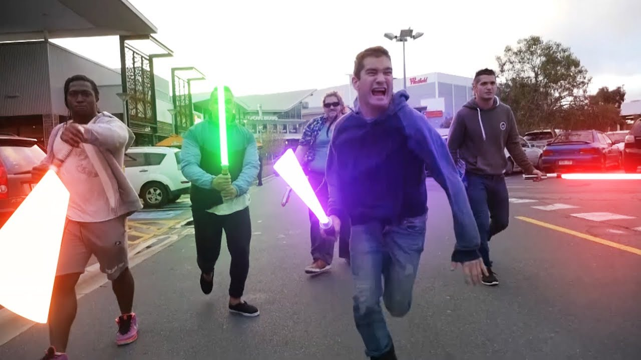 Random People Become Jedi And Fight Pokemon In This Hilarious Star Wars Parody