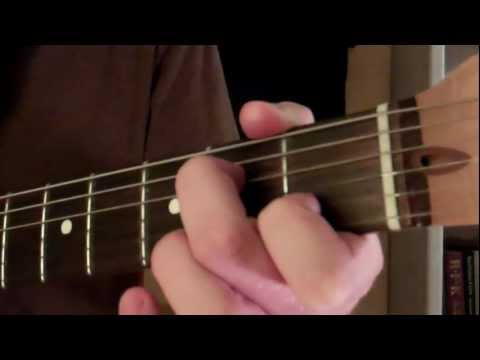 How To Play the A Minor Seven 7 Chord On Guitar (Am7)