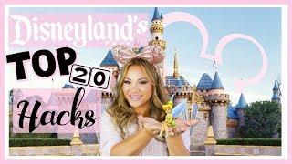 Disneylands Top 20 Hacks   How To Do Disneyland Like A Pro!