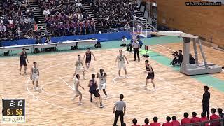 【高校バスケ】福大大濠ハイライト(2018ウインターカップ福岡県予選決勝)