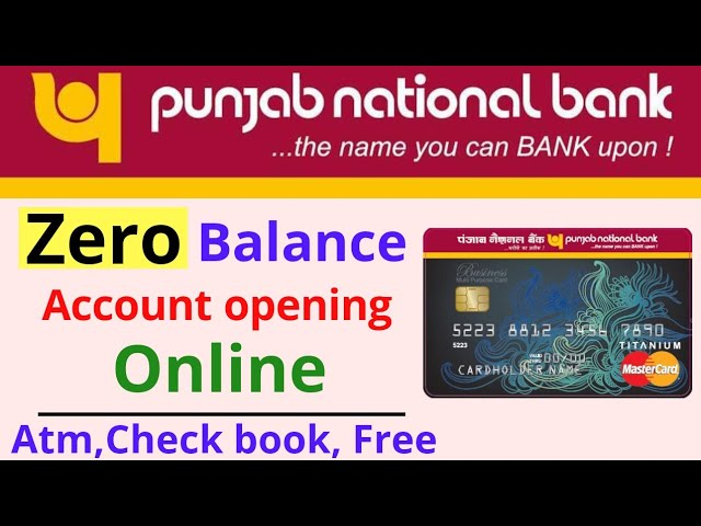 How To Open A Saving Account In Pnb