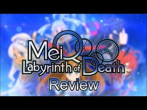 MeiQ: Labyrinth of Death - Review [PSVita]
