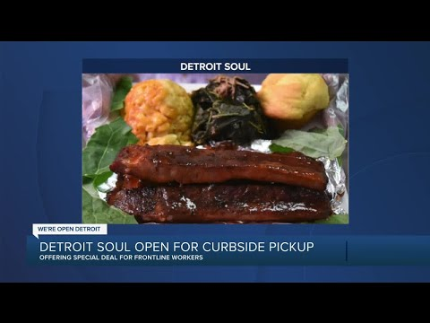 Detroit Soul serving up comfort food, offering 10 percent off for frontline workers