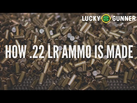 How .22LR Ammo is Made