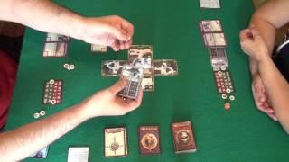 Подземелье. Царство Ледяной Ведьмы 1/2 часть - играем в настольную игру