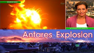 RUSSIA READY to DELIVER US supplies to ISS after ANTARES ROCKET EXPLODES