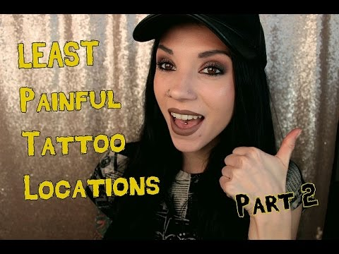Video The LEAST Painful Areas I've Been Tattooed | Part 2