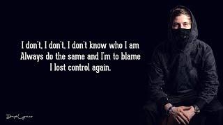 Alan Walker, Sorana   Lost Control (Lyrics) 🎵
