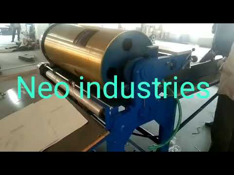 Flexo Box Printing Machine
