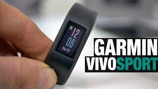 Garmin VIVOSPORT im Test: Der günstige Einsteiger-Fitnesstracker mit GPS und Herzfrequenz