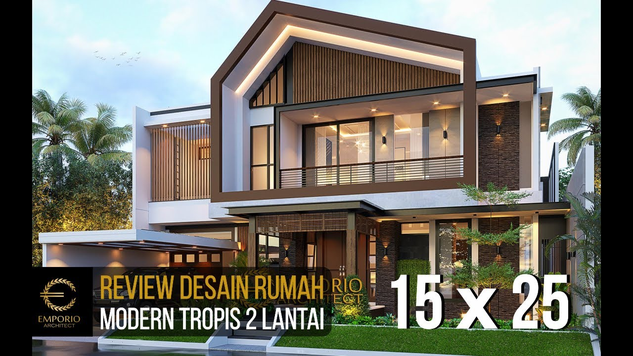Video 3D Mr. Welan Modern House 2 Floors Design - Manado, Sulawesi Utara
