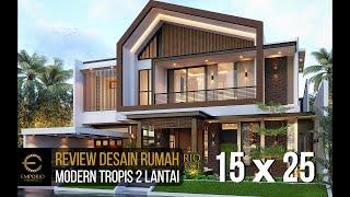 Video Desain Rumah Modern 2 Lantai Bapak Welan di  Manado, Sulawesi Utara