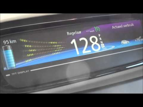 Renault ZOE Acceleration 0-120 km/h & 0-130 km/h