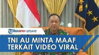 TNI AU Minta Maaf terkait Video Viral Anggota Polisi Militer Injak Kepala Seorang Pria di Papua
