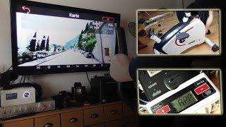 Sportplus Ergometer via Bluetooth App und Google Street View unterwegs