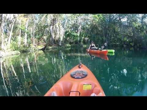 Video Weeki Wachee River Kayaking With Manatees Florida Adventure Tours