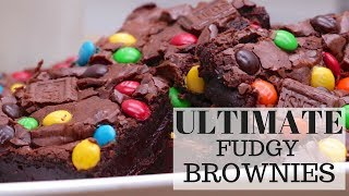 How To Make Ultimate Gooey Fudgy Brownies