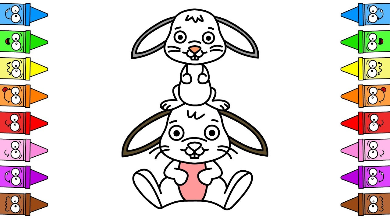 Drawing Bunny Face How To Draw Bunny Step By Step Drawing Easter