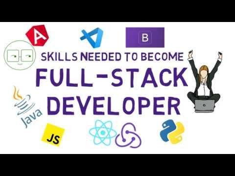 Skills Needed for Full-Stack Developer