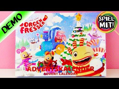 SORGENFRESSER Adventskalender öffnen   Wir öffnen alle 24 Türchen!   Spiel mit mir Kinderspielzeug