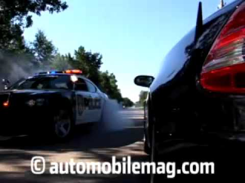Dodge Charger Police Car Burnouts -- Official Video