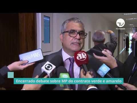 Encerrada as discussões sobre a MP do Contrato Verde e Amarelo - 10/03/20