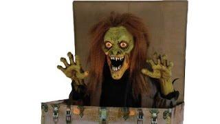spirit halloween 2017 seasonal visions rising boogeyman leaked video - Spirit Halloween Props
