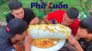 Hữu Bộ   Làm Chiếc Bánh Phở Cuốn Khổng Lồ To Nhất Việt Nam