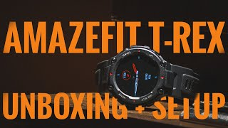 Amazfit T-Rex Unboxing and Set-Up