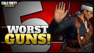 Top 5 Worst Guns in CoD WW2 (Updated)