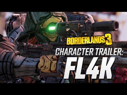"Borderlands 3 - FL4K Character Trailer: ""The Hunt"" thumbnail"