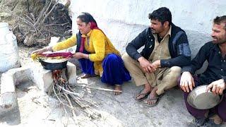 INDIAN VILLAGE GUJJAR FAMILY❤VILLAGE LIFE OF PUNJAB/INDIA❤RURAL LIFE OF PUNJAB/INDIA/VILLAGER LIFE