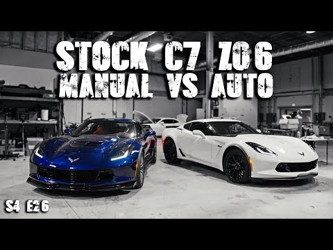 Manual Vs Auto - C7 Z06 Stock Dyno Numbers | RPM S4 E26