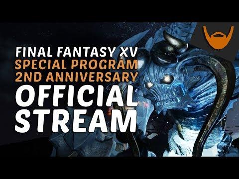 Final Fantasy XV - Special Program Official SE Stream (Nov 8th) / Comrades News?