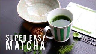 How to make matcha green tea without tea sets!