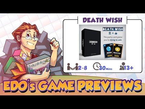Edo's Death Wish Card Game Review (KS Preview)