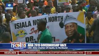 Alex Otti Of APGA Campaigns In Isiala Ngwa North South LGAs