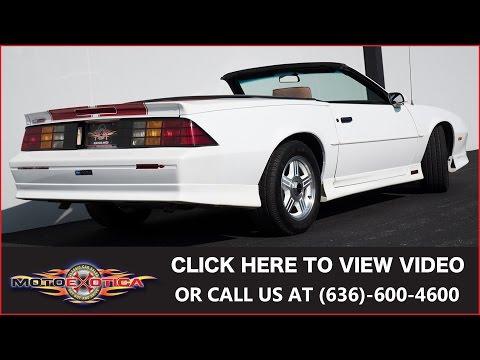 Video of '92 Camaro Z28 - LS3X