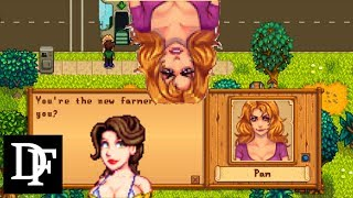 Stardew Valley - Hot Pam! Leah Gets Cleavage! And Marnie