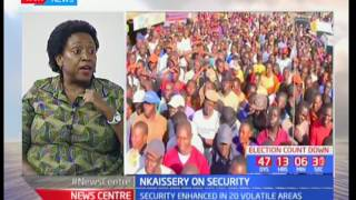 News Center :  Interview on elections and security