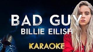 Billie Eilish   Bad Guy (karaoke Instrumental)