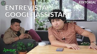 Entrevista a una Inteligencia Artificial: Google Assistant