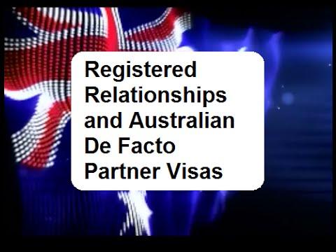 de facto visa australia registered relationship memes